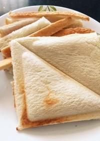 食パンのサンドイッチ