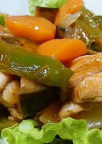 鶏肉と野菜のトマトジュース焼き