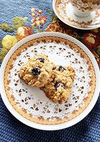 シナモンとオートミールのクッキー