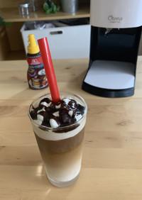 かき氷機で簡単コーヒーフラペチーノ風