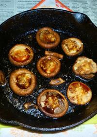 イシスキで焼き椎茸のタパス