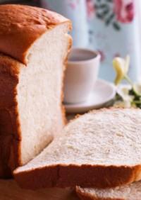 ホームベーカリーでモッチリお豆腐食パン