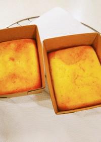 粉チーズでチーズケーキ