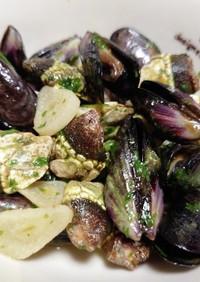 亀の手とムール貝のオリーブオイル煮♪