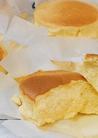 ふわしゅわはちみつスフレチーズケーキ