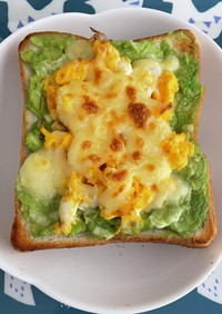 簡単!美味しいアボカドチーズ卵トースト