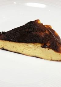 フライパン バスク風チーズケーキ