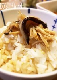 麺つゆで簡単!椎茸とエノキのなめたけ