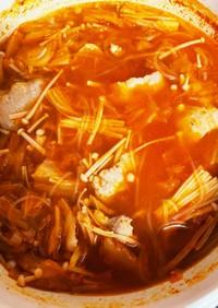 キムチと春雨のめちゃ旨スープ