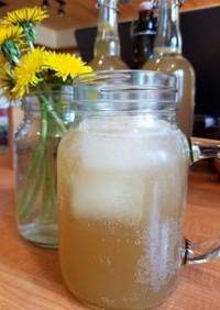 タンポポの花でできる、自然発酵ソーダ