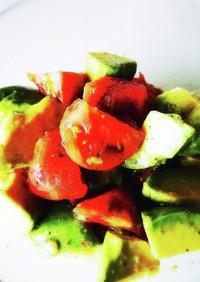 アボカド&トマトのサラダ
