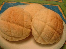 サクサククッキーメロンパン