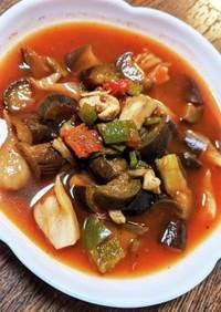 たっぷり野菜とささみのラタトゥイユ*✭