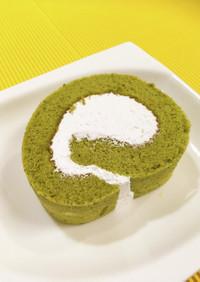 ぷれみあむ❖大人の☆宇治抹茶ロールケーキ