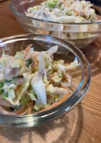 簡単☆白菜とツナのサラダ