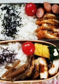 チキンカツ&鯵フライ弁当(5.14)