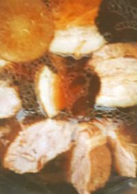 圧力鍋で簡単柔らか豚の角煮