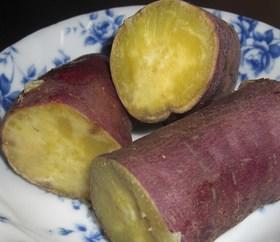 甘いよ!!炊飯器でふかしサツマイモ。