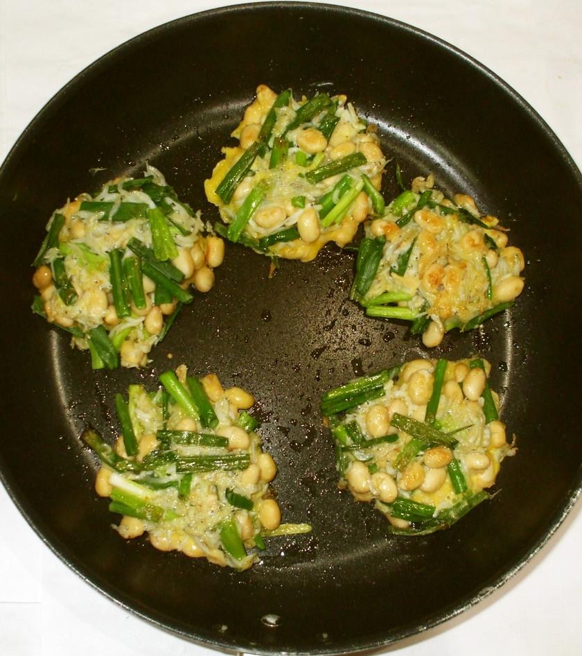 ミネラル大豆ねぎ焼き♪簡単漢方食養生