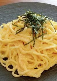 マスカルポーネチーズの明太子パスタ