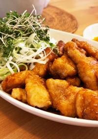五香粉の甘辛揚げ上海風醤魚(ジャンユィ)