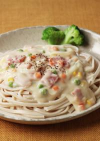 卯月製麺:とろ~りクリームシチューうどん