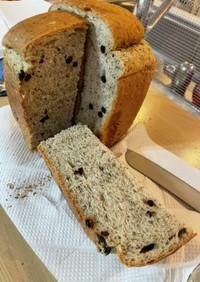 ブルーベリーとアップルティーのパン