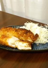モッツァレラチーズ入り☆チーズささみ揚げ