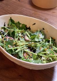 絶品⭐︎寿司屋風サラダ