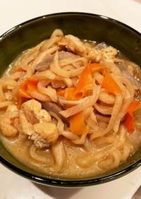 麺つゆで作る切り干し大根煮(大量消費)