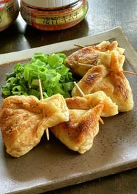 キムチと納豆のお袋焼き