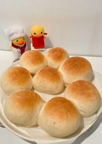 HB ふんわりおいしい✨簡単丸パン