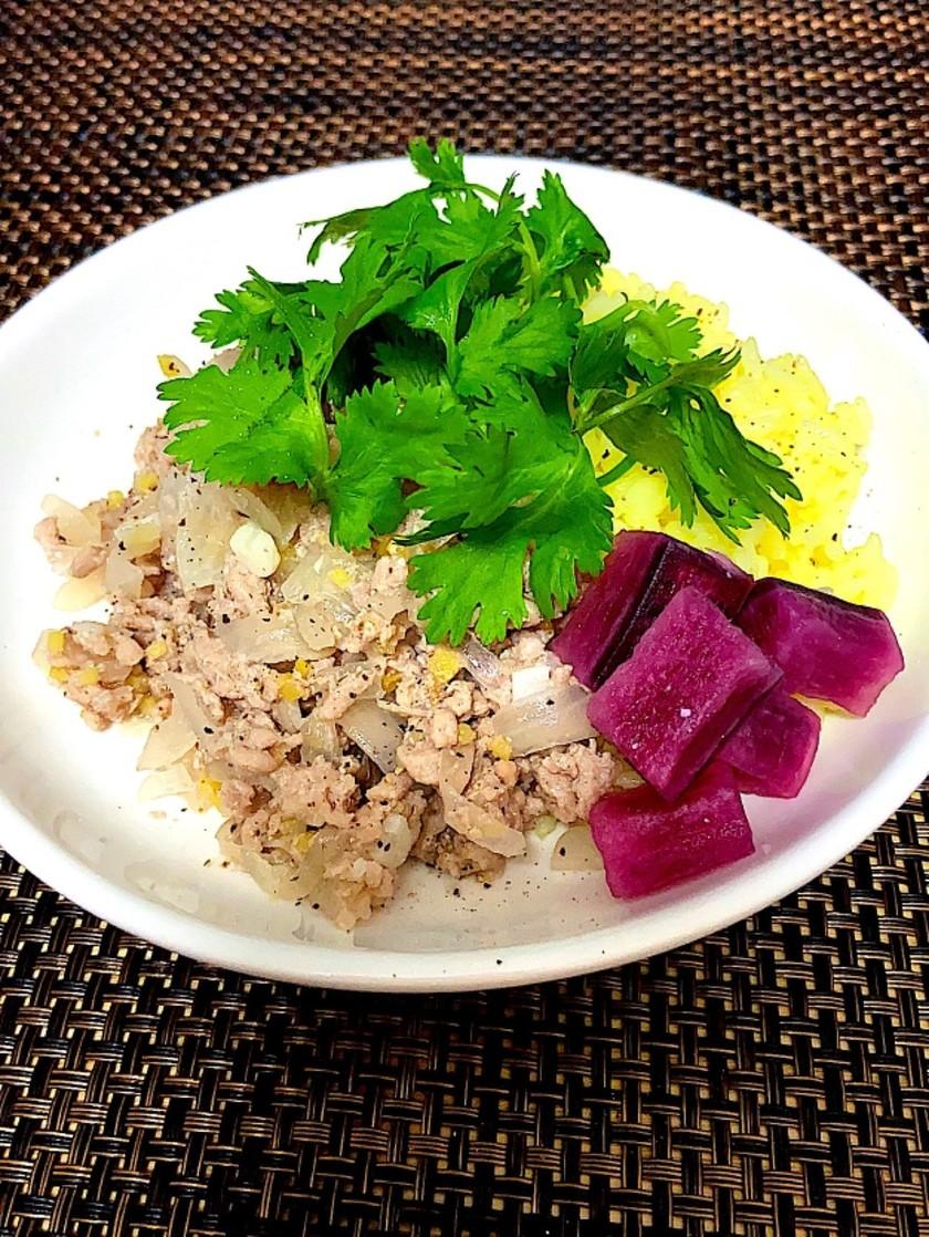 《豚肉》辛くない タイ料理ラープムー