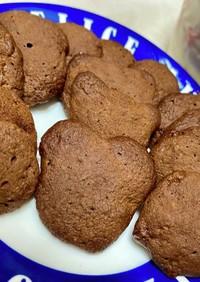 レンジでノンオイルおから100%クッキー