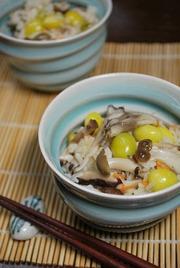 ♡銀杏キノコの秋ご飯♡の写真