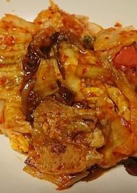 豚キムチトマト