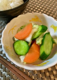 *ポリポリ食べちゃう野菜の浅漬け*