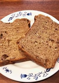 ココナッツ香るHBで作るクルミふすまパン