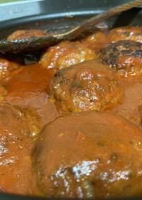 ハンバーグのトマトソース煮込み(ソース)