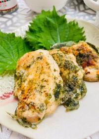 簡単15分◎ふわふわうまい鶏の磯部焼き