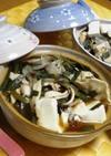 ピリ辛☆冷凍餃子DE鍋