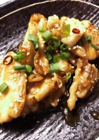 鶏なんこつのカンタン甘辛煮