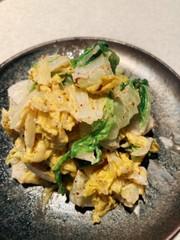 白菜のマヨサラダの写真