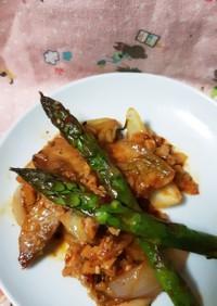 春野菜の豚キムチ