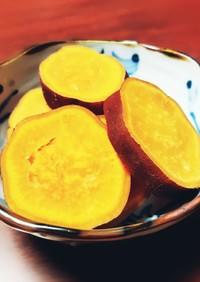 簡単◎レンジ◎さつまいものレモン煮