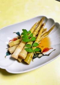 笹竹(筍)の煮物