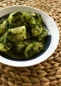 生青海苔・鰹節の風味豊かなジャガイモ和え