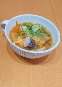 燃焼系キムチスープ