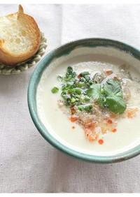 レンジで!鹹豆漿風スープ