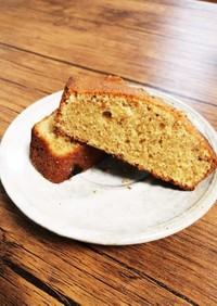 全粒粉のパウンドケーキ
